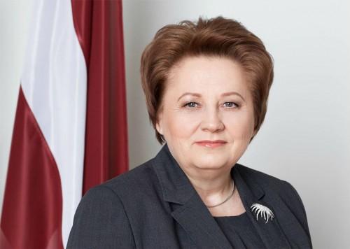 Aizvadītā gada līdere Fizisko personu publicitātes TOPā – Ministru prezidente Laimdota Straujuma