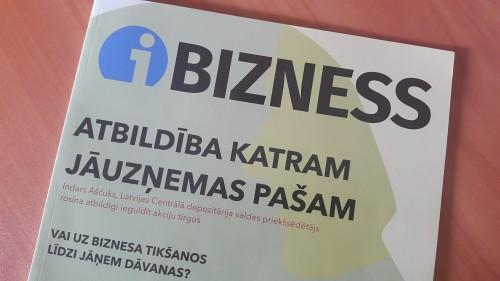 """Žurnāls iBizness: Sākam """"Eksperimentu""""!"""