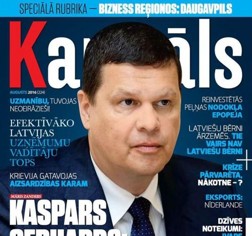 Jaunajā žurnāla Kapitāls numurā – efektīvāko Latvijas uzņēmumu vadītāju tops