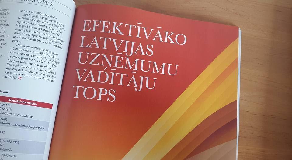 Latvijas efektīvākie uzņēmumu vadītāji