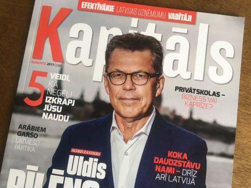 Žurnāls Kapitāls sadarbībā ar Lursoft jau otro gadu publicē Efektīvāko Latvijas uzņēmumu vadītāju tops
