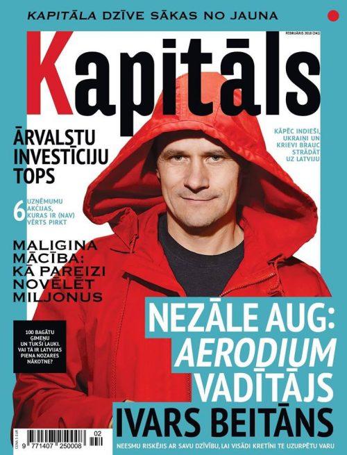 """Žurnāla """"Kapitāls"""" februāra numurā uzzini, kuri ir lielākie ārvalstu kapitāla uzņēmumi Latvijā"""